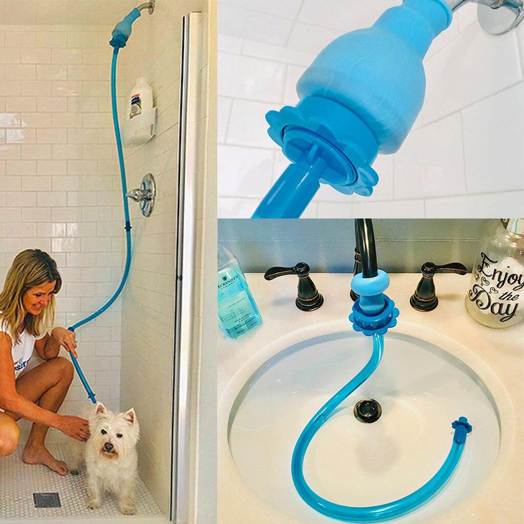 Pet Shower Head Cleaner Sprinkler Hose